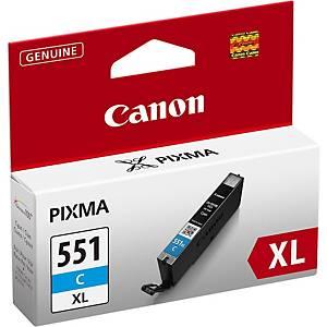 Canon tintapatron CLI-551C XL (6444B001), ciánkék