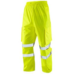 High Visibility Overtrousers Yellow  Small