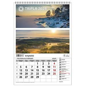 Ajasto Tripla seinäkalenteri 2021 290 x 415 mm