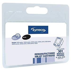 LYRECO kompatibilná atramentová kazeta HP 301 (CH561EE) čierna