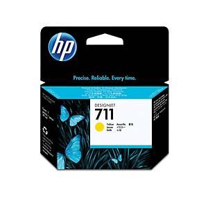 HP inkoustová kazeta 711 (CZ132A), žlutá