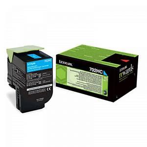 Lexmark cartouche 70C2HC0 pour CS410N cyan