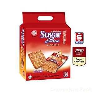 Hup Seng Sugar Crackers -Pack of 14