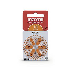Polaroid 13 PR48 kuulokojeparisto 1.4V, 1 kpl=6 paristoa