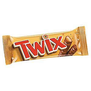 Barre chocolatée Twix - boîte de 16 x 2 barres