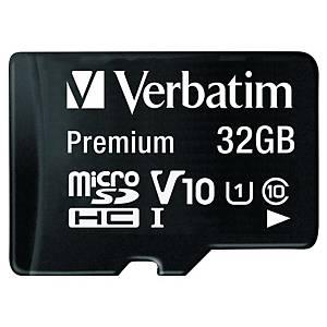 Verbatim Premium U1 Micro SDHC 32GB + adapter