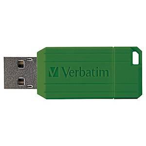 Verbatim Pinstripe USB stick 10-4MB/sec - 64GB black