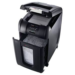 Destructeur de papier Rexel Auto+ 300X, rognures, 300 feuilles, 3-5 utilisateurs