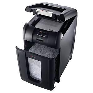Dokumentförstörare Rexel Auto+ 300X, automatisk arkmatning, korsskärning