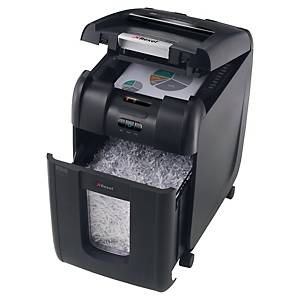 Rexel Shredder Auto Feed 200X Cross Cut P4 200 Sheet Shredder