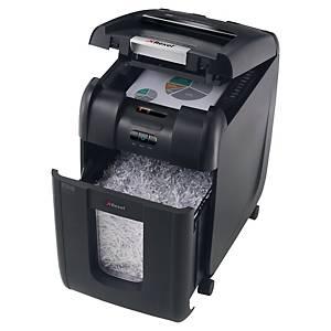 Dokumentförstörare Rexel Auto+ 200X, automatisk arkmatning, korsskärning