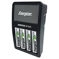 Cargador de pilas Maxi Energizer + 4 pilas AA precargadas - 2.000 mAh