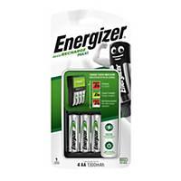 Energizer Maxi Charger UK Plug + 4AA 1300 MAH Precharged Batteries