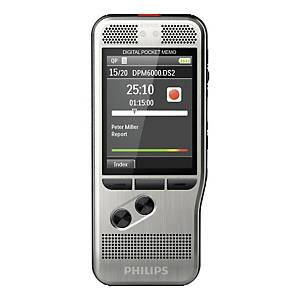 Philips DMP6000 Pocket Memo Digital Dictation Machine