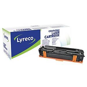 Cartouche de toner Lyreco compatible équivalent HP 131X - CF210X - noire