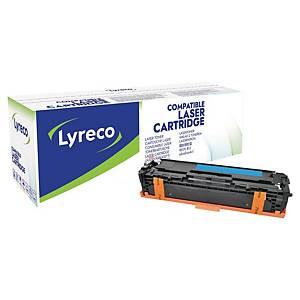 Toner Lyreco kompatibel mit HP CF211A, Reichweite: 1.800 Seiten, cyan