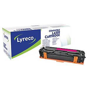Cartouche de toner Lyreco compatible équivalent HP 131A - CF213A - magenta