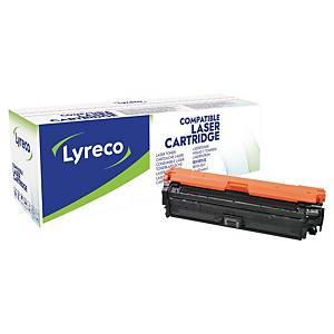 Cartouche toner Lyreco compatible HP 651A (CE340A), noir