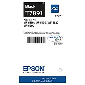 Epson T789XXL inkjet cartridge black [4.000 pages]