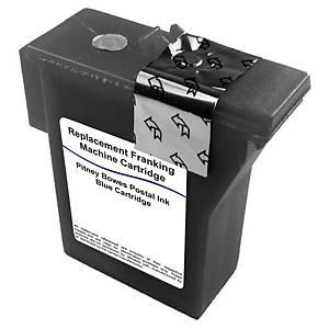 Cartouche d encre Lyreco compatible équivalent Pitney Bowes DM50/55 - bleue
