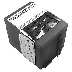Cartouche d encre Lyreco compatible équivalent Pitney Bowes DM100/125/175 bleue