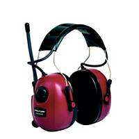 3M PELTOR ALERT RADIO EARMUFF RED