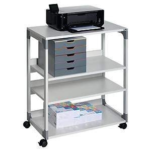 Rullebord Durable 3711, på hjul, grå