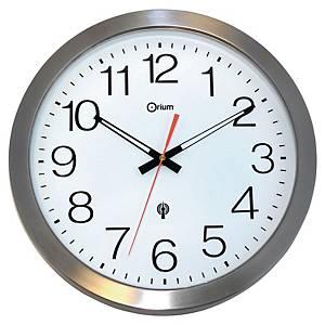 Nástenné hodiny riadené rádiovým signálom Cep Orium, priemer 35,5 cm