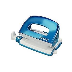 Leitz 5060 Wow Mini lävistäjä 10 arkkia sininen