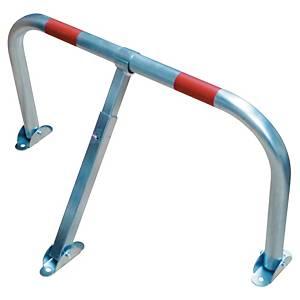 Arceau de parking Viso avec clé - 2 bandes réfléchissantes rouges