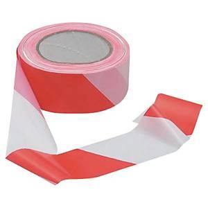 Absperrband Viso RSNA01RB, Maße: 50mm x 100m, PP, rot/weiß