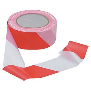VISO SIMPLE THICKNESS TAPE 100MX0MM WHITE/RED
