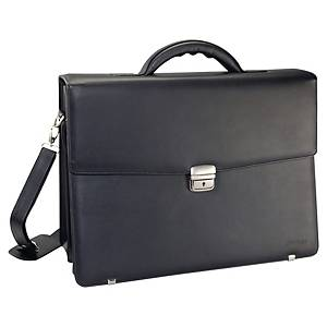 Monolith 2334 leather briefcase