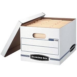 뱅커스박스 Basic 파일 박스 하양 2개입