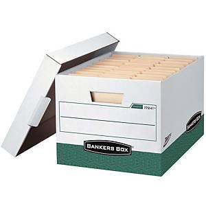뱅커스박스 프레스토 파일 박스 녹색 2개입