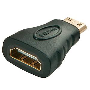 HDMI-Adapter Lindy 41235, Video/Audio, schwarz
