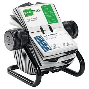 VISIFIX ROTARY FILE FOR 400 CARDS BLACK