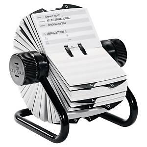 Système pour cartes de visite Durable Telindex Rotary pour 500 cartes