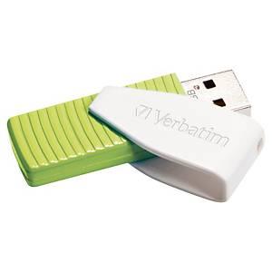 Clé USB Verbatim Store  n  Go Swivel - USB 2.0 - 32 Go - verte