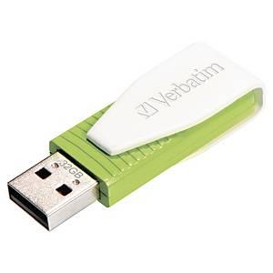 USB Verbatim Store N Go swivel flash grønn 32GB