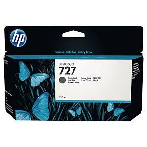 HP 727 B3P22A DESIGNJET CART HC MAT BLK
