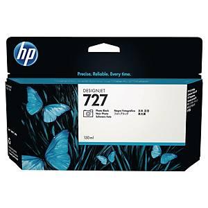 Cartouche d encre HP 727 - B3P23A - noir photo
