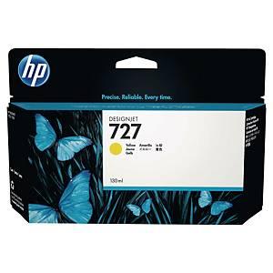 Cartouche d encre HP 727 - B3P21A - jaune