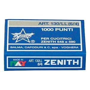 Punti per cucitrice Zenith 130/LL  - conf.  1.000