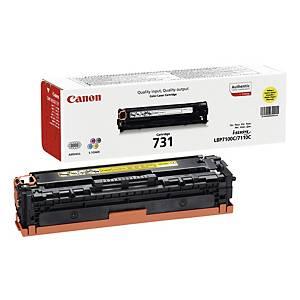Canon 731Y Laser Toner 1,500 Yellow 6269B002
