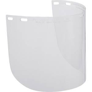 Sicherheitsvisierset Deltaplus BALB2IN, Kunststoffrand, 39 x 20cm, klar, 2 Stück