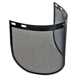 Sicherheitsvisier Deltaplus VISORG, Drahtgitter, Maße: 39 x 20cm, schwarz, 2 St