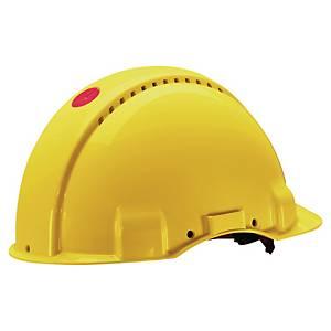 3M G3000 NUV-VI suojakypärä ruuvisäätö keltainen