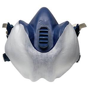 Schutzvlies 3M 400, für Atemschutzmasken der Serie 4000, weiß, 10 Stück