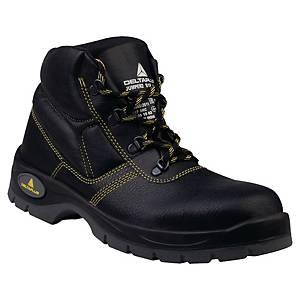 Bezpečnostná členková obuv DELTAPLUS JUMPER2, S1P SRC, veľkosť 44, čierna